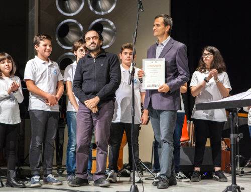 1st edition of the Composition Competition: prize giving ceremony.